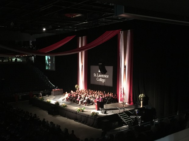 Kingston Convocation at the Roger's K-Rock Centre