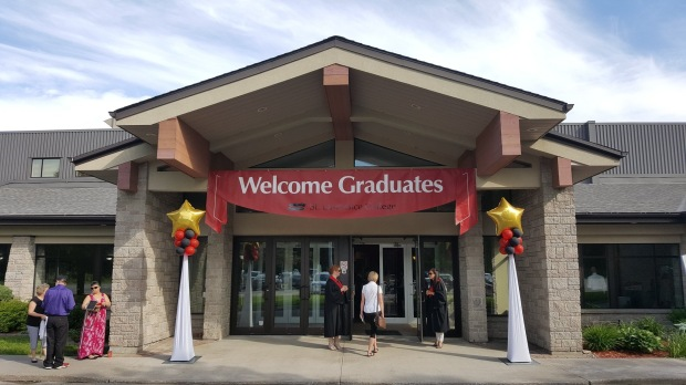 Brockville Convocation Entrance